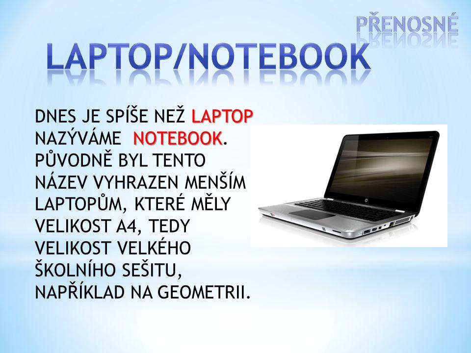 Na obrázku vidíš: a)Server b)Notebook c)Smartphone