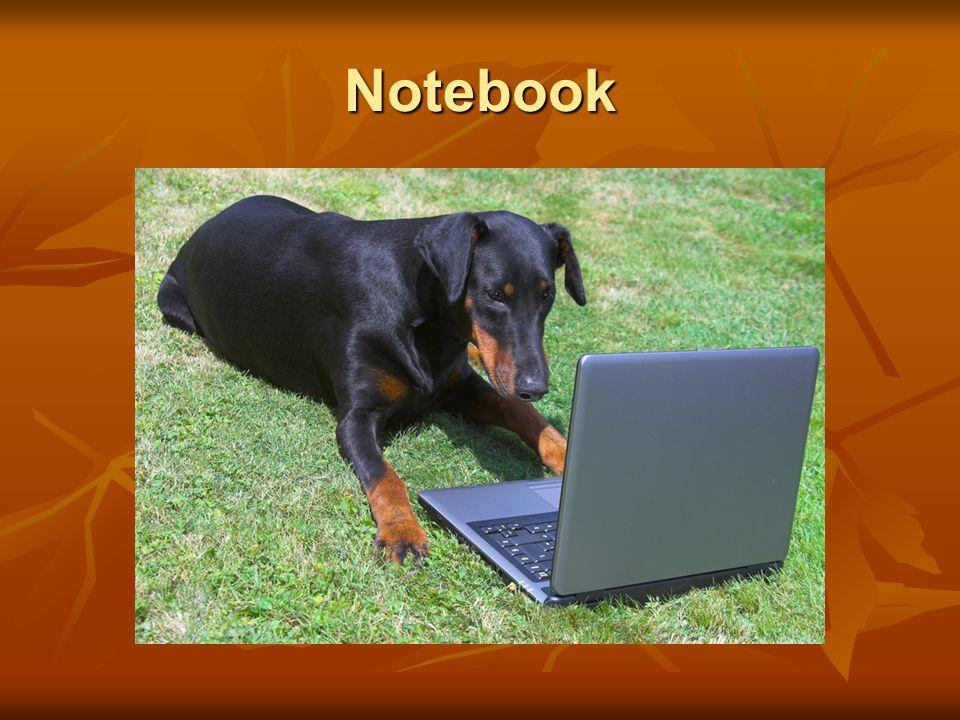 Notebook Notebook nebo laptop je označení pro přenosný počítač.
