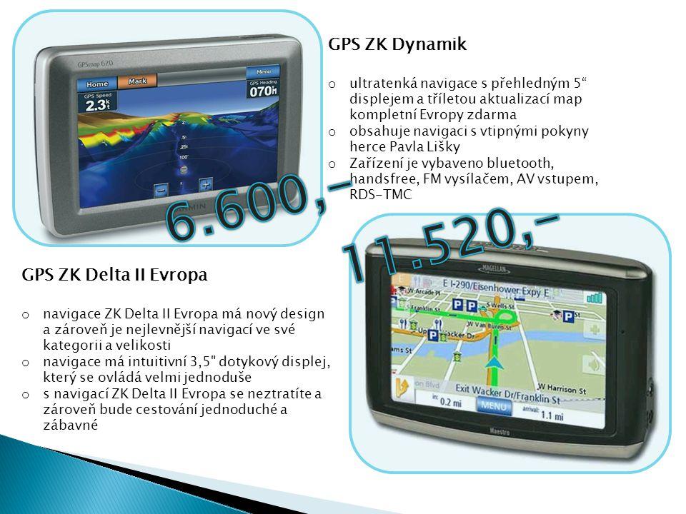 """GPS ZK Dynamik o ultratenká navigace s přehledným 5"""" displejem a tříletou aktualizací map kompletní Evropy zdarma o obsahuje navigaci s vtipnými pokyn"""