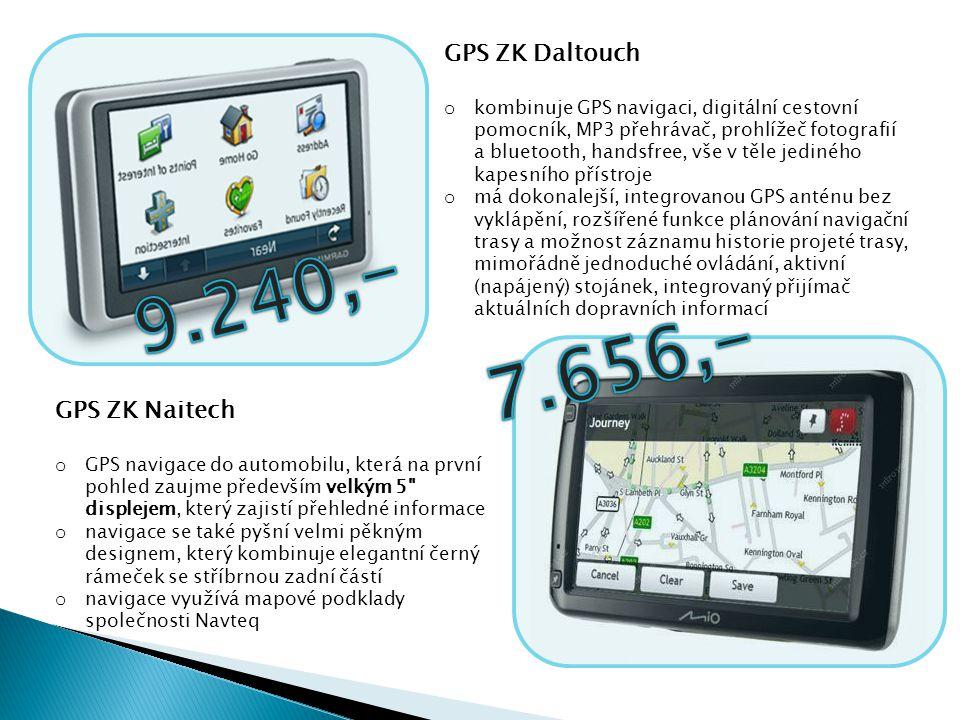 GPS ZK Naitech o GPS navigace do automobilu, která na první pohled zaujme především velkým 5