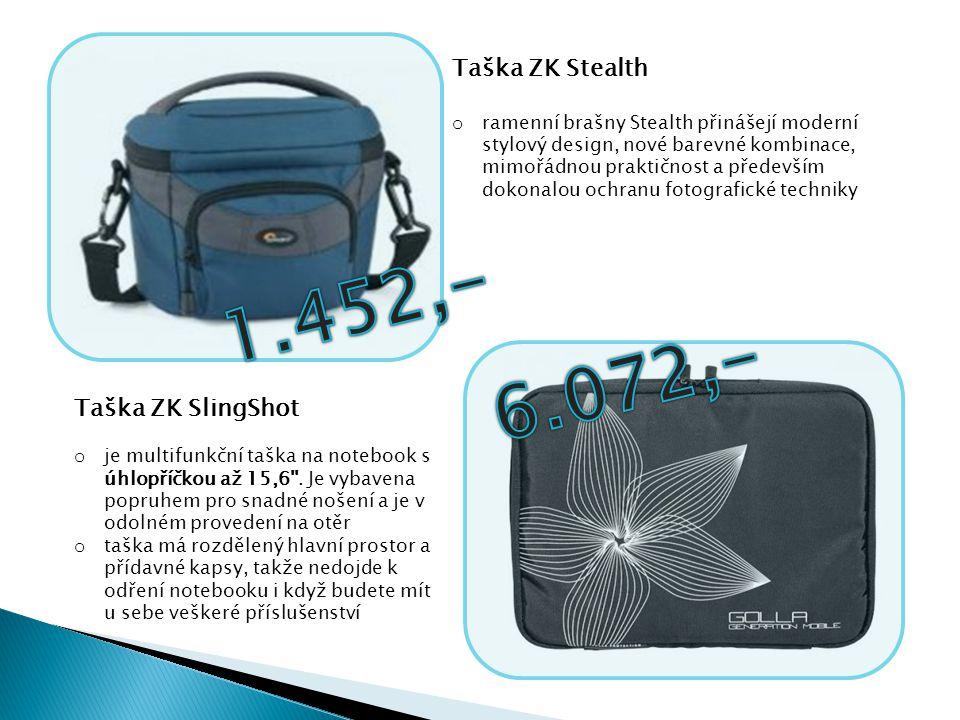 Taška ZK Stealth o ramenní brašny Stealth přinášejí moderní stylový design, nové barevné kombinace, mimořádnou praktičnost a především dokonalou ochra