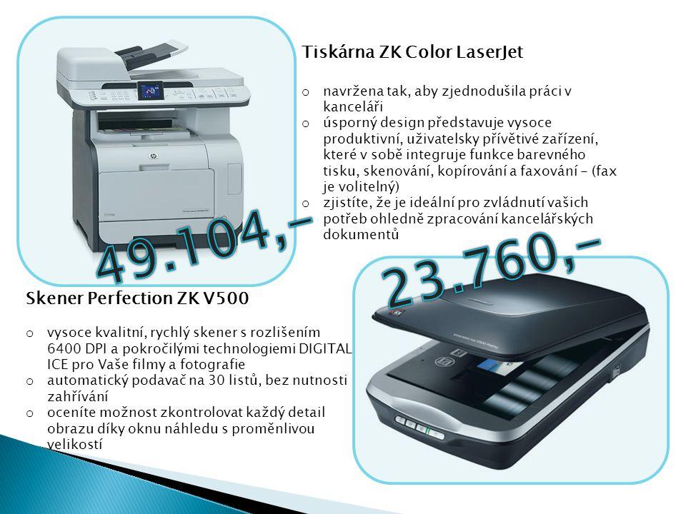 Tiskárna ZK Color LaserJet o navržena tak, aby zjednodušila práci v kanceláři o úsporný design představuje vysoce produktivní, uživatelsky přívětivé z