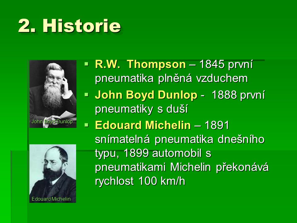 2.Historie  R.W.