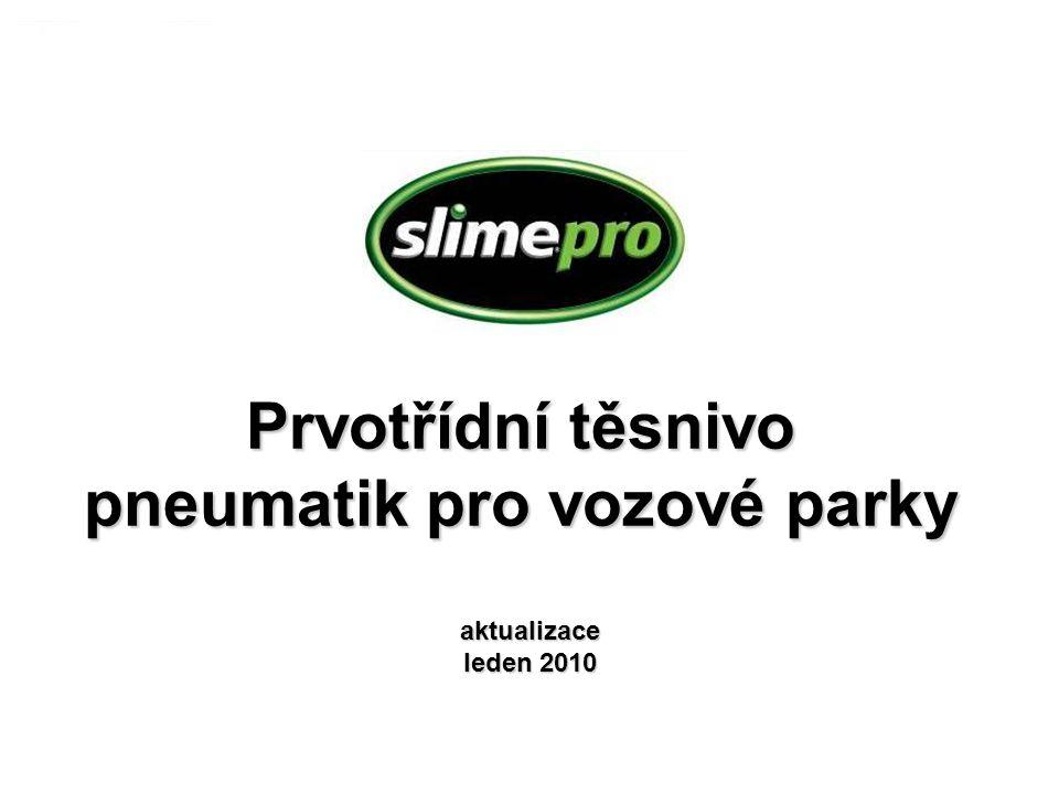 Prvotřídní těsnivo pneumatik pro vozové parky aktualizace leden 2010