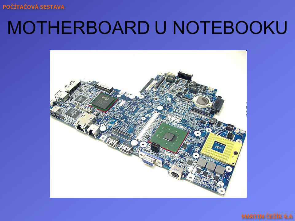 MOTHERBOARD U NOTEBOOKU