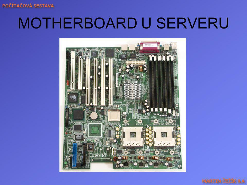 SBĚRNICE IBM PC PCI - univerzální 32bitová sběrnice, 33 MHz (max.