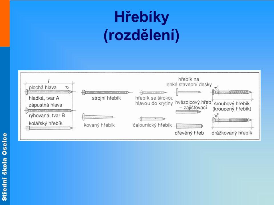 Střední škola Oselce Hřebíky (rozdělení)