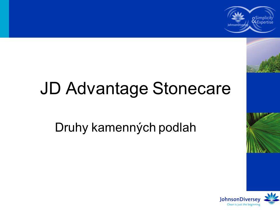 JD Advantage Stonecare Druhy kamenných podlah