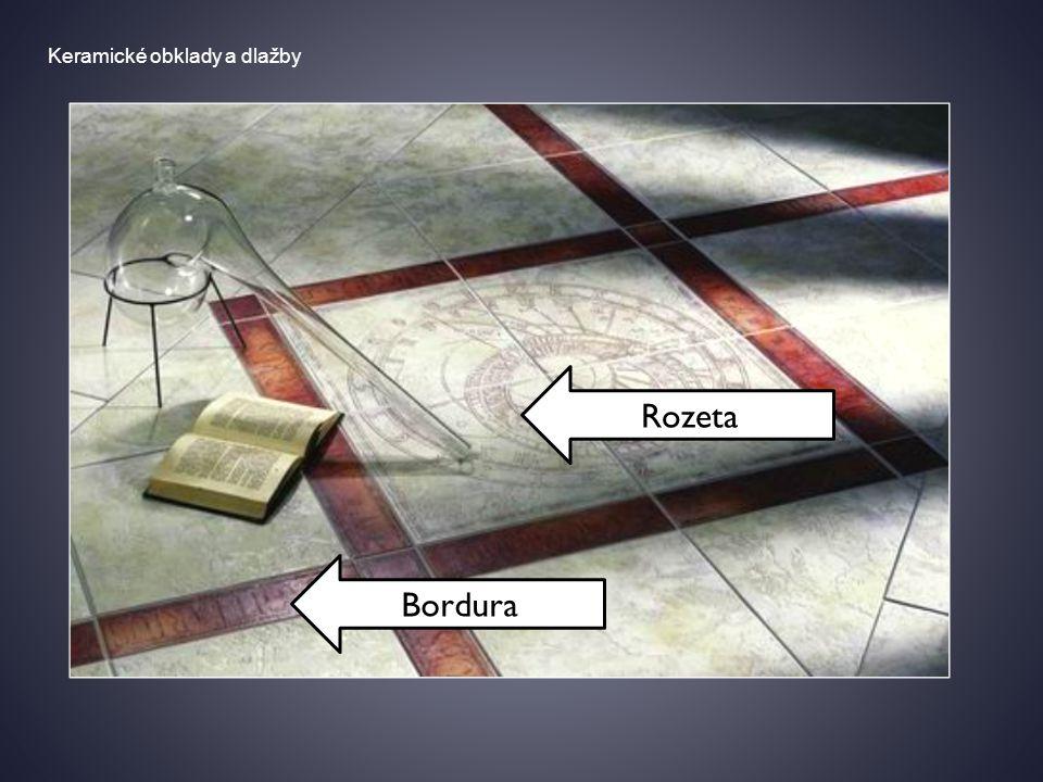 Keramické obklady a dlažby Schodovka Schodová lišta
