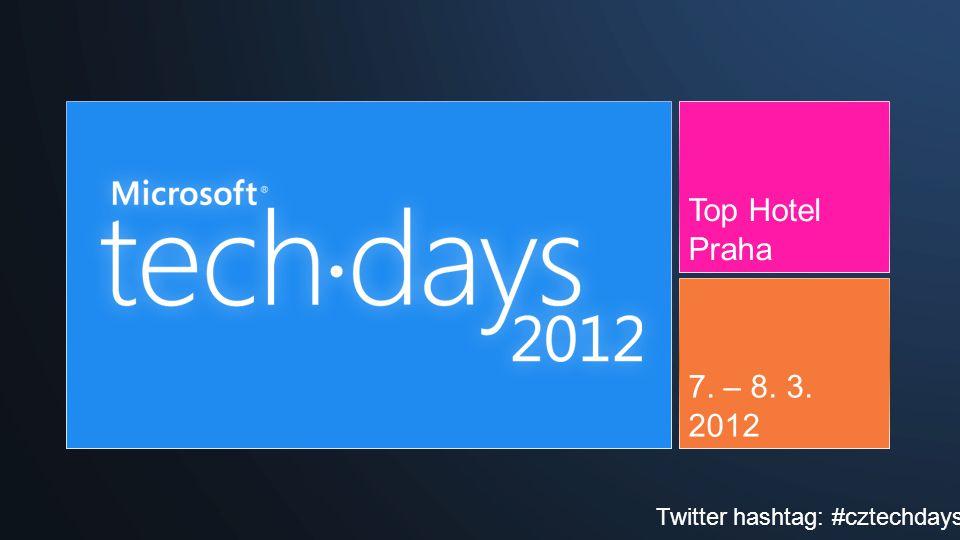 Top Hotel Praha 7. – 8. 3. 2012 Twitter hashtag: #cztechdays