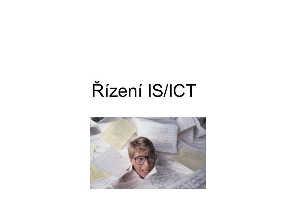 1.Strategické řízení IS/ICT 1. Analýza strategických záměrů celé společnosti 2.