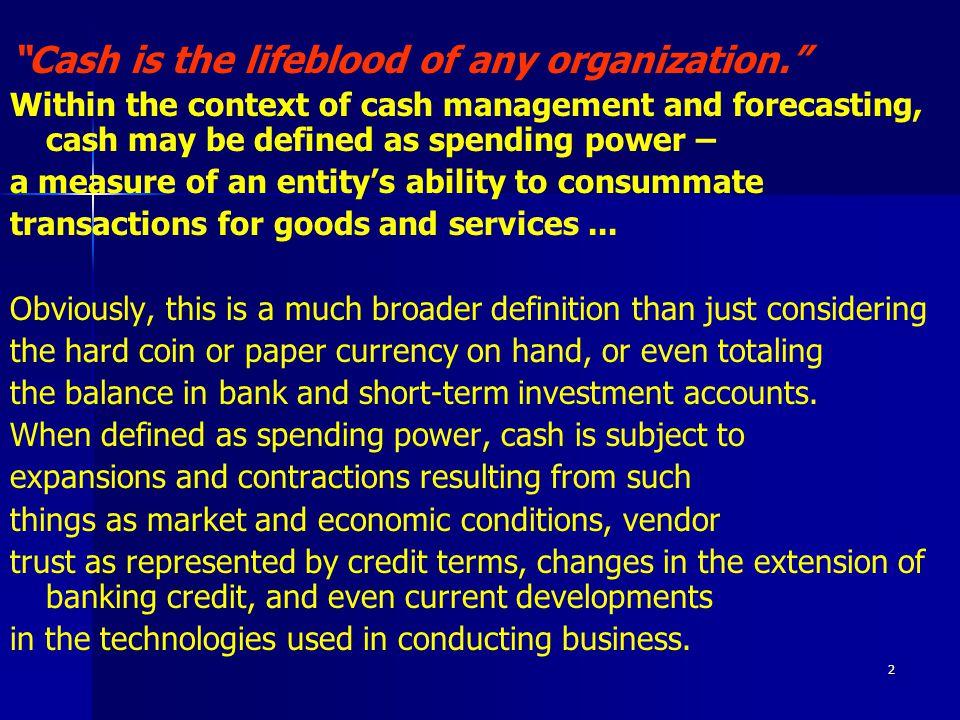 23 FIM - ŘÍZENÍ CASHFLOW VE STAVEBNÍM PODNIKU 1.2 Výdaje Zárukou řízení výdajů je jejich centralizace.