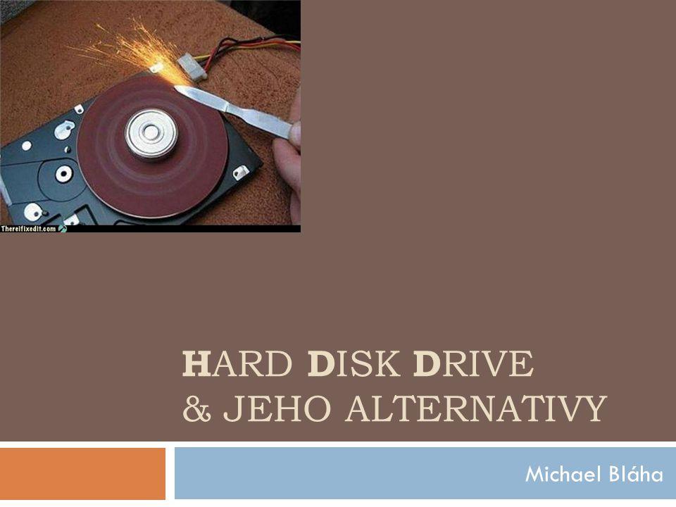 Hard Disk Drive(HDD)  zařízení, které se používá v počítačích a ve spotřební k dočasnému nebo trvalému uchovávání většího množství dat pomocí magnetické indukce  Předchůdcem pevných disků je magnetická páska a magnetický buben