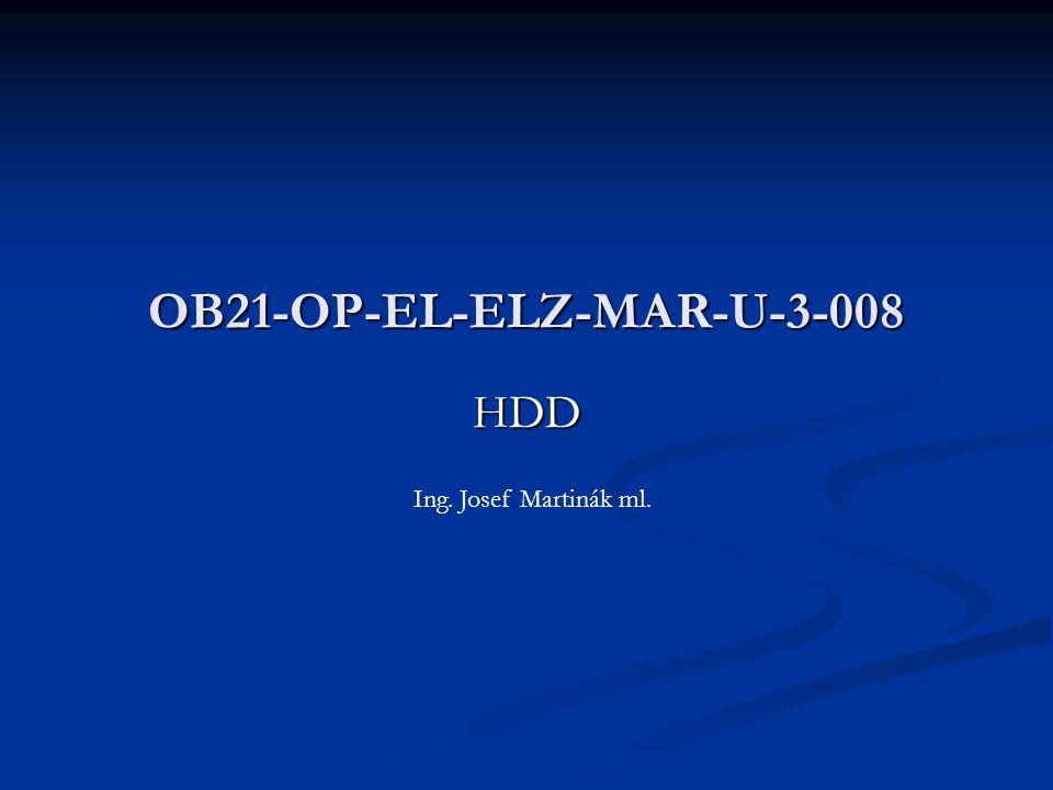 HDD OB21-OP-EL-ELZ-MAR-U-3-008 Ing. Josef Martinák ml.