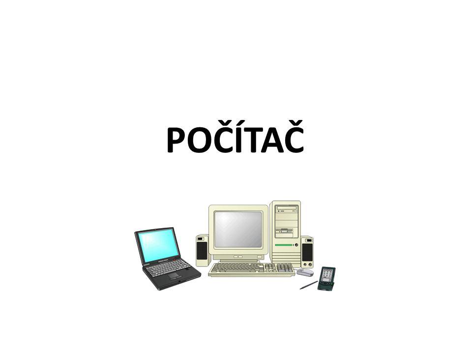 Dělení pamětí počítače Vnitřní paměti počítače – Operační paměť – Paměť ROM (obsahuje startovací programy a základní programy pro práci s přídavnými zařízeními počítače – BIOS, je to paměť trvalá, ze které je na rozdíl od paměti operační možno informace pouze číst nikoli zaznamenávat) Vnější paměti počítače slouží k dlouhodobému uchování informací