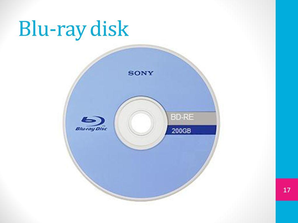 Blu-ray disk 17