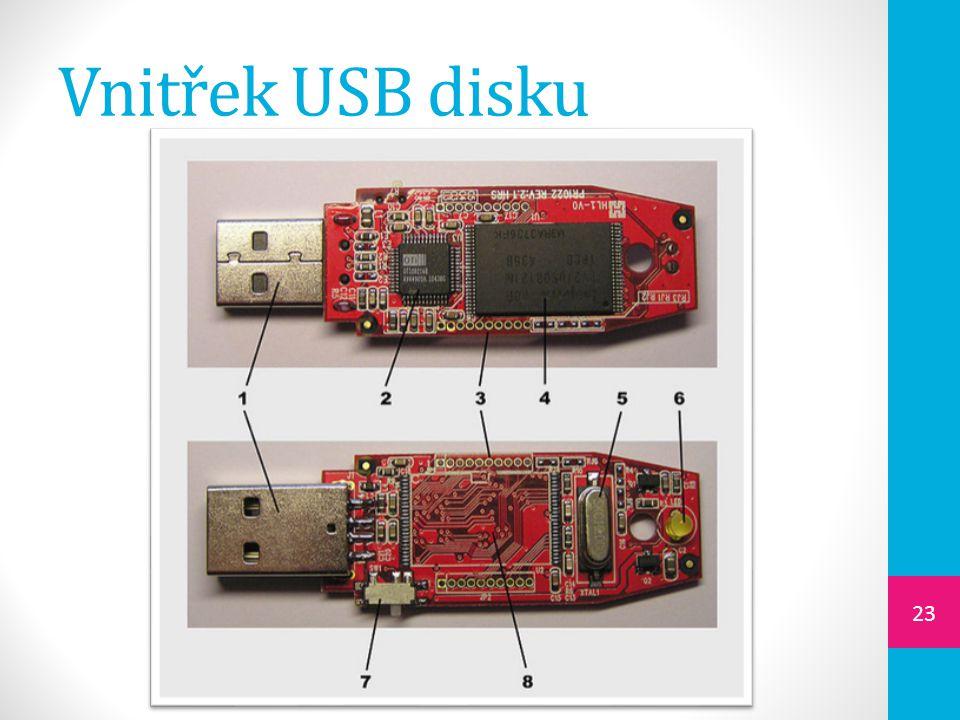 Vnitřek USB disku 23