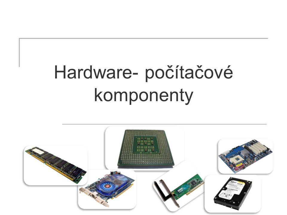 komponent Počítač je složen z několika základních dílů- komponent.