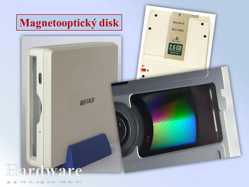 Magnetooptický disk