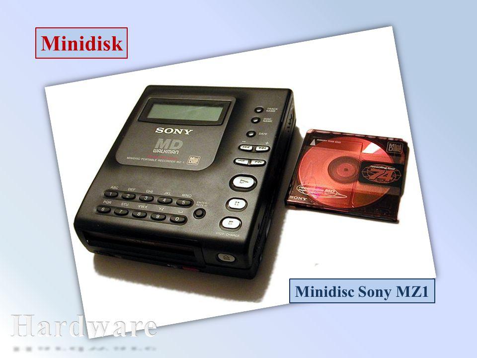 Minidisk Minidisc Sony MZ1