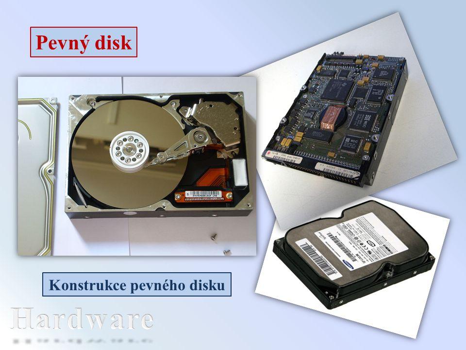 Konstrukce pevného disku
