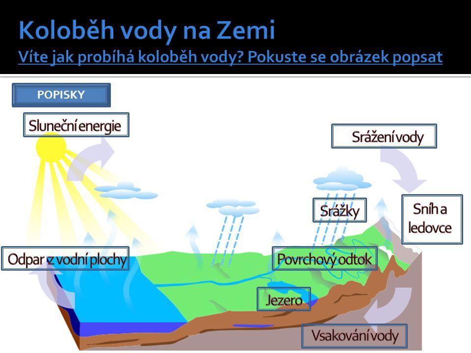  Vymyslete co nejvíce využití vody  Základní podmínka života všech organismů  Pitná voda  Vodní toky (řeky) a plochy (moře) tvoří význam pro dopravní spojení  Průmysl (chlazení, ohřívání, výroba elektrické energie, výroba nápojů)  Rekreační a sportovní význam