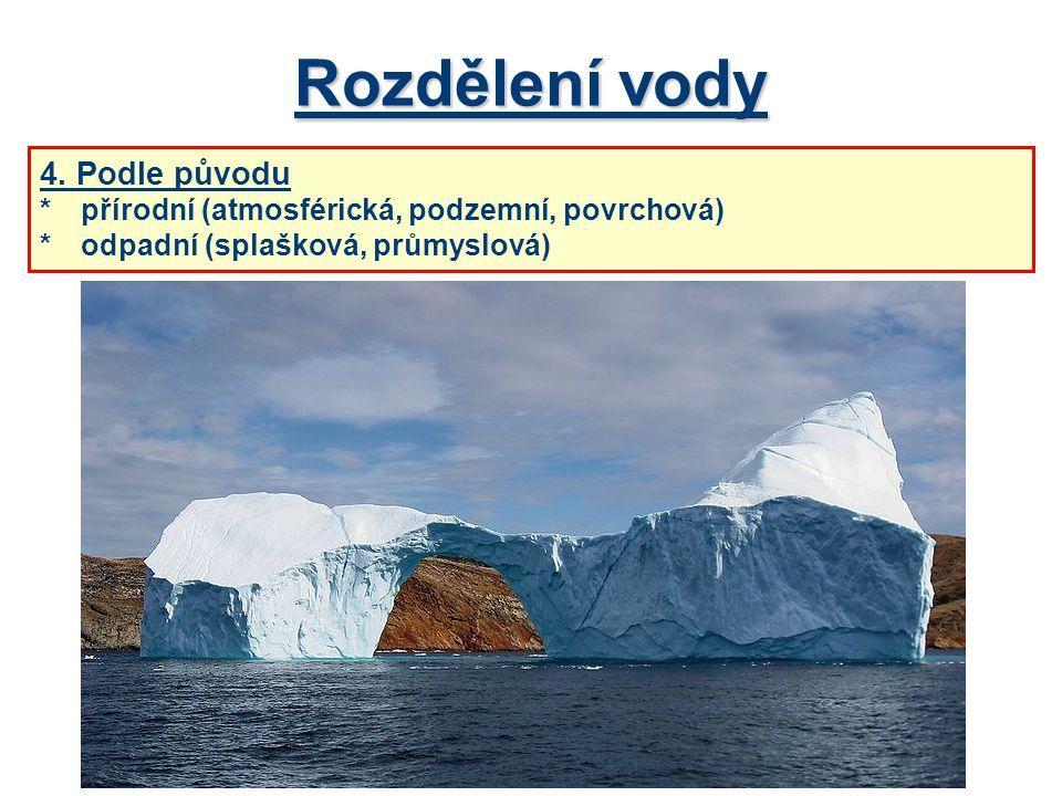 Zdroje a spotřeba vody v ČR V ČR spadne ročně asi 52 km 3 srážek.