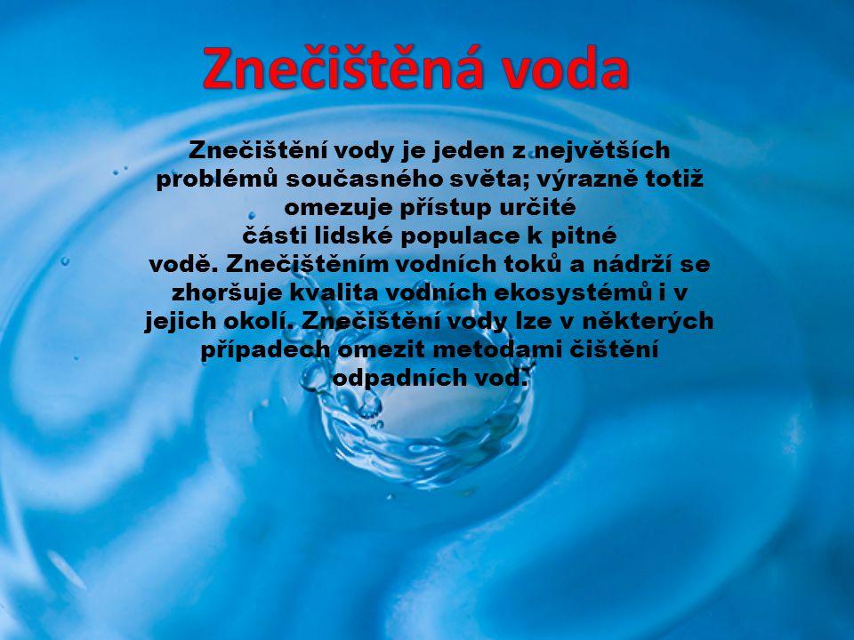 O vodě se říká, že je nejrozšířenější sloučeninou na zeměkouli.