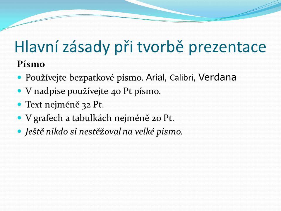 Podmínky zápočtové prezentace Ke splnění zápočtu kurzu 1VT je nutné splnit následující podmínky: Prezentovat předem schválené téma.