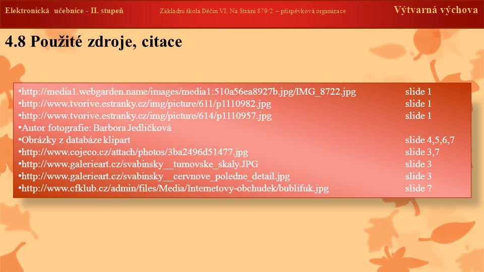 4.9 Anotace Elektronická učebnice - II.