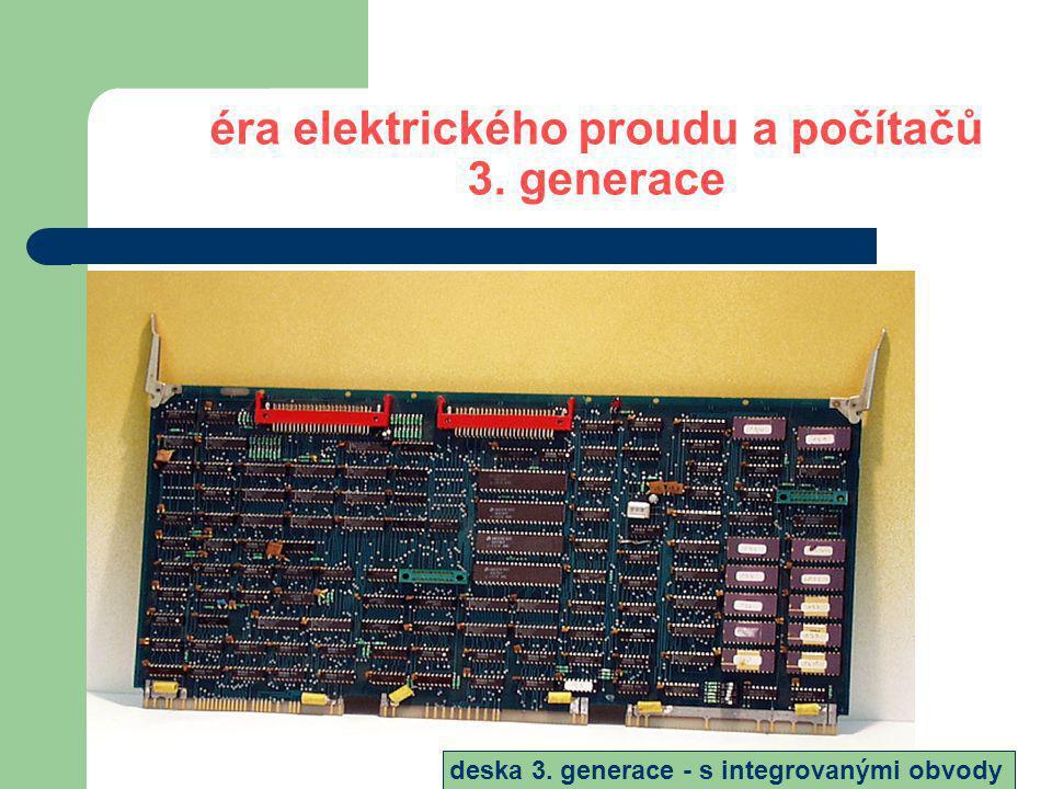 éra elektrického proudu a počítačů 4.generace Programovací jazyky 1971- profesor Niklaus E.