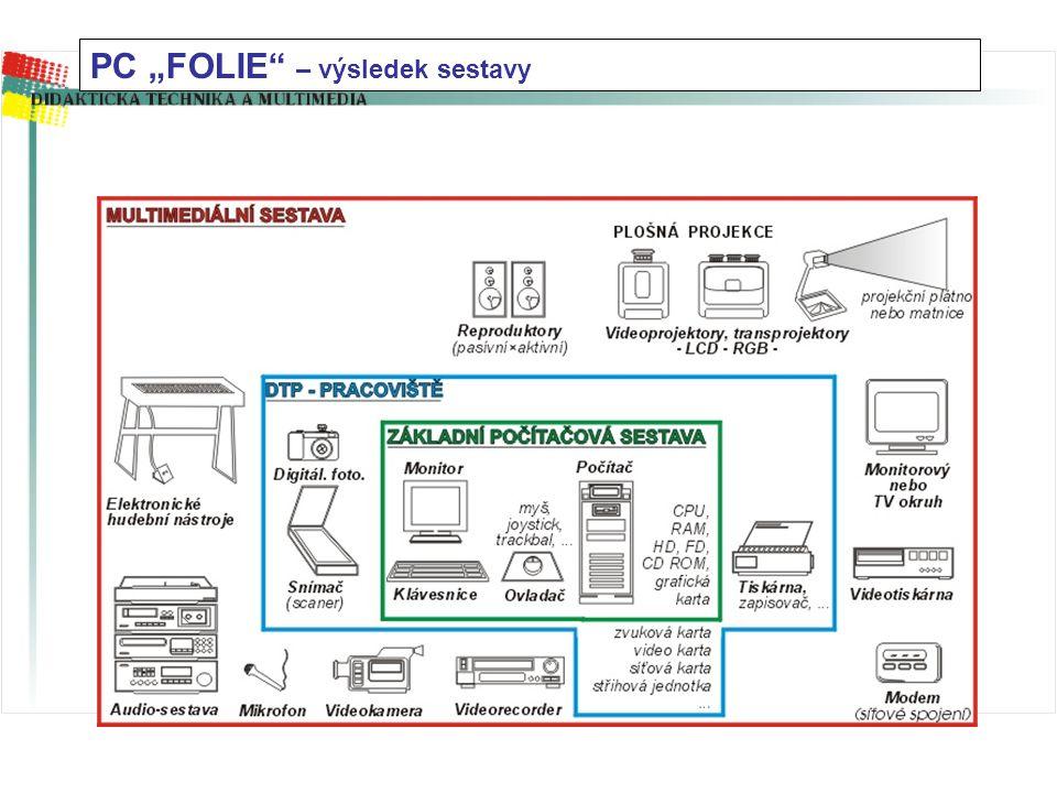 """PC """"FOLIE"""" (rozvíjená sestava) - klikáním bude rozvíjena"""