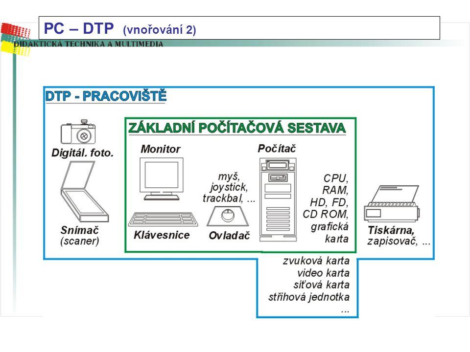 """PC – ZÁKLADNÍ SESTAVA (vnořování 1) - funkce """"ZOOM"""""""