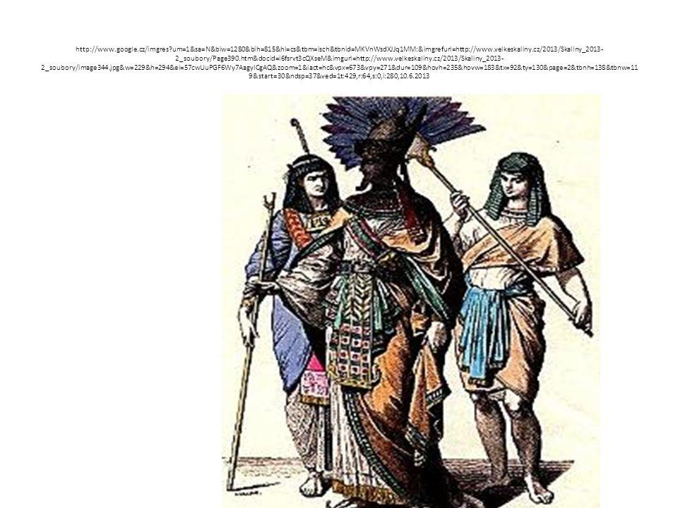 MÓDA Egypťané a Egypťanky si na módě zakládali a chtěli se líbit.