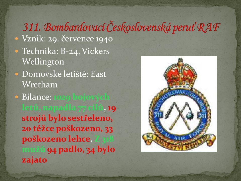 Vznik: 29. července 1940 Technika: B-24, Vickers Wellington Domovské letiště: East Wretham Bilance: 1029 bojových letů, napadla 77 cílů, 19 strojů byl