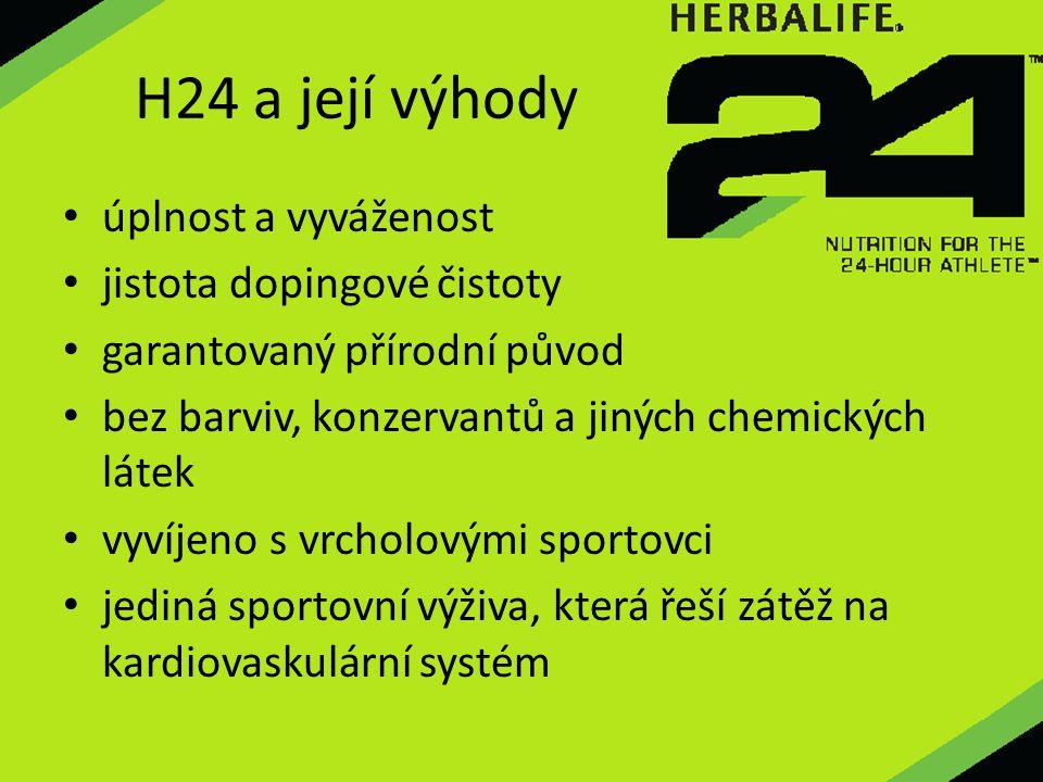 úplnost a vyváženost jistota dopingové čistoty garantovaný přírodní původ bez barviv, konzervantů a jiných chemických látek vyvíjeno s vrcholovými spo