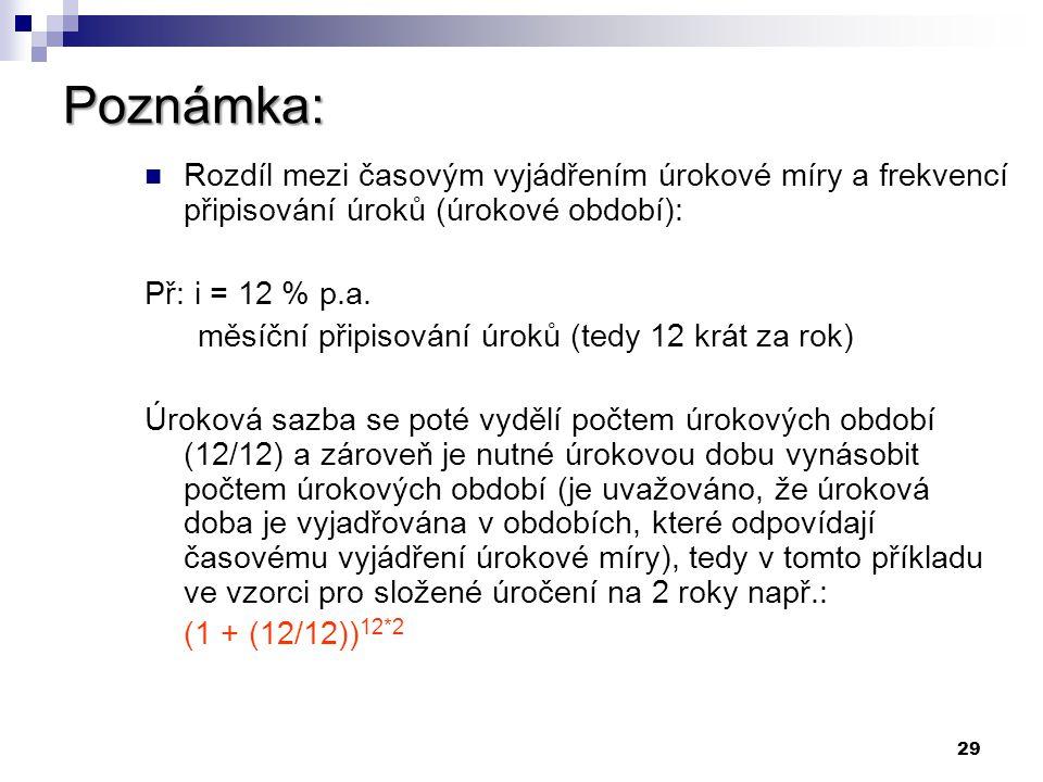 28 Příklad č.10 Příklad č.