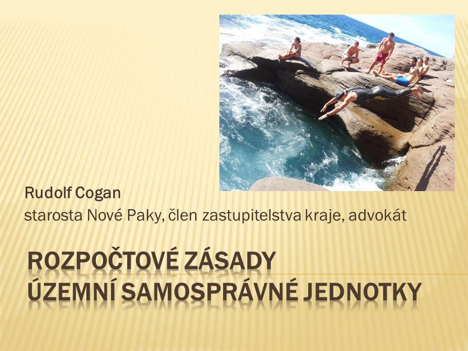 Rudolf Cogan starosta Nové Paky, člen zastupitelstva kraje, advokát