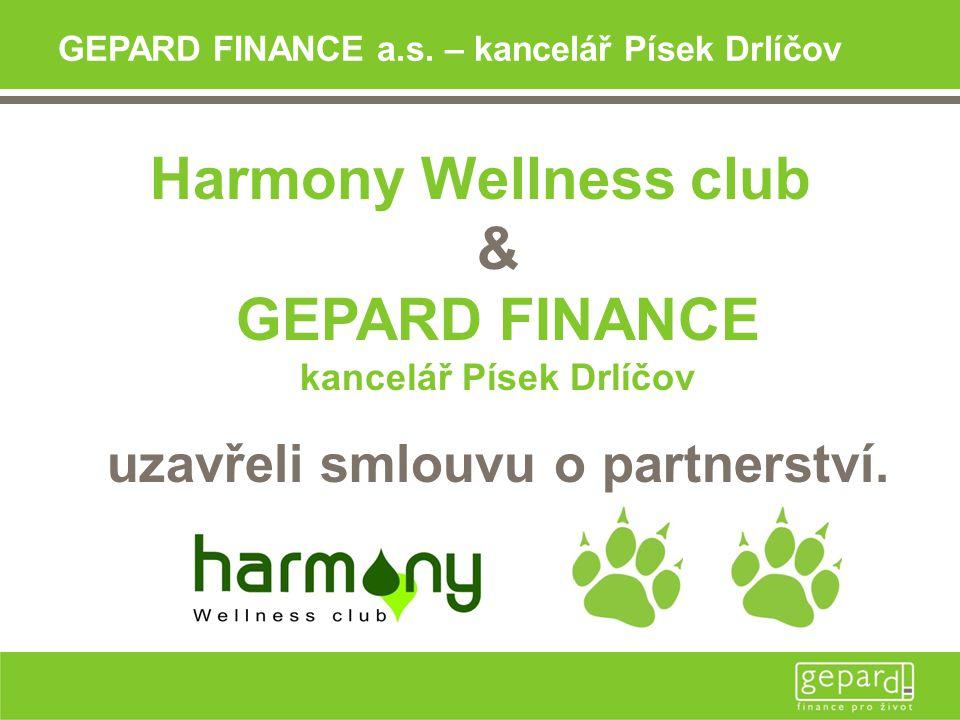 Přijďte si vyzvednout do Harmony Wellness clubu Váš Dárkový šek.