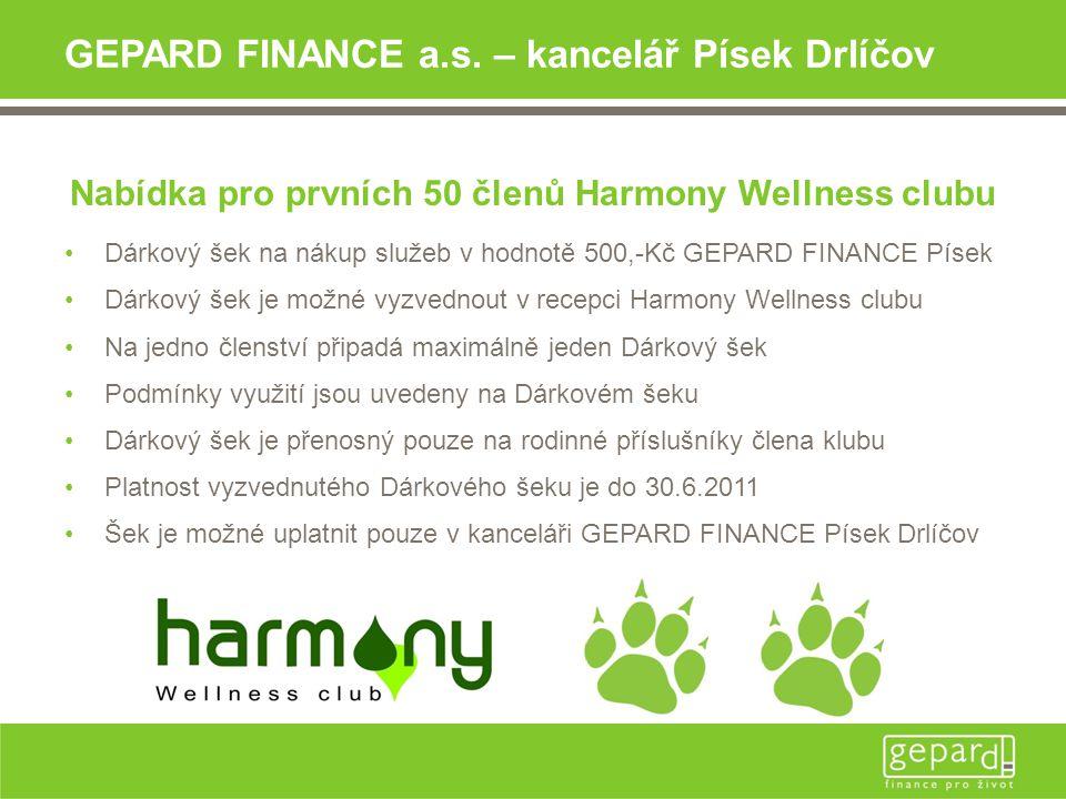 GEPARD FINANCE a.s.