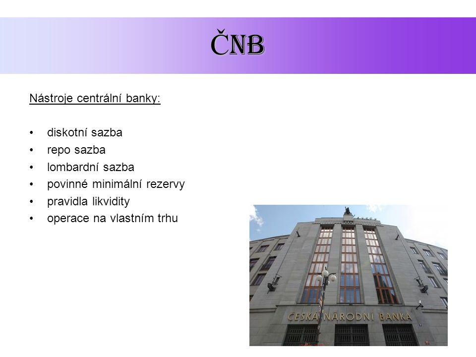 obchodní banky 1) Pasivní úvěrové operace Banka přijímá vklady, je v dlužnické pozici Vklady rozlišujeme z několika hledisek: 1) hledisko termínové netermínované vklady termínované vklady 2) hledisko měny korunové devizové (v cizí měně) Banky mají i jiné zdroje než jsou vklady občanů a firem: Úvěry od ČNB a od ostatních bank, emise bankovních obligací a hypotečních zástavních listů