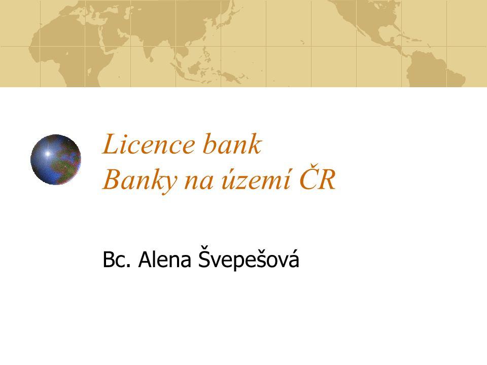 Banky a jejich fungování Jsou finančním zprostředkovatelem Základním bankovním zprostředkováním: Přijímaní vkladů Bankovní úvěry Základní principy bankovního podnikání: Princip návratnosti Princip ziskovosti Zdroj: KAŠPAROVSKA, V.