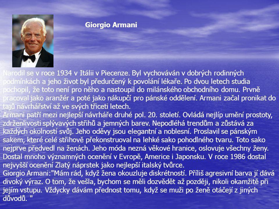 Narodil se v roce 1934 v Itálii v Piecenze.