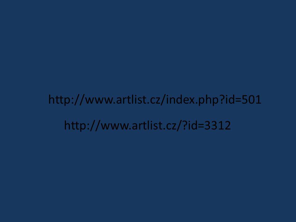 http://www.artlist.cz/ id=3312 http://www.artlist.cz/index.php id=501