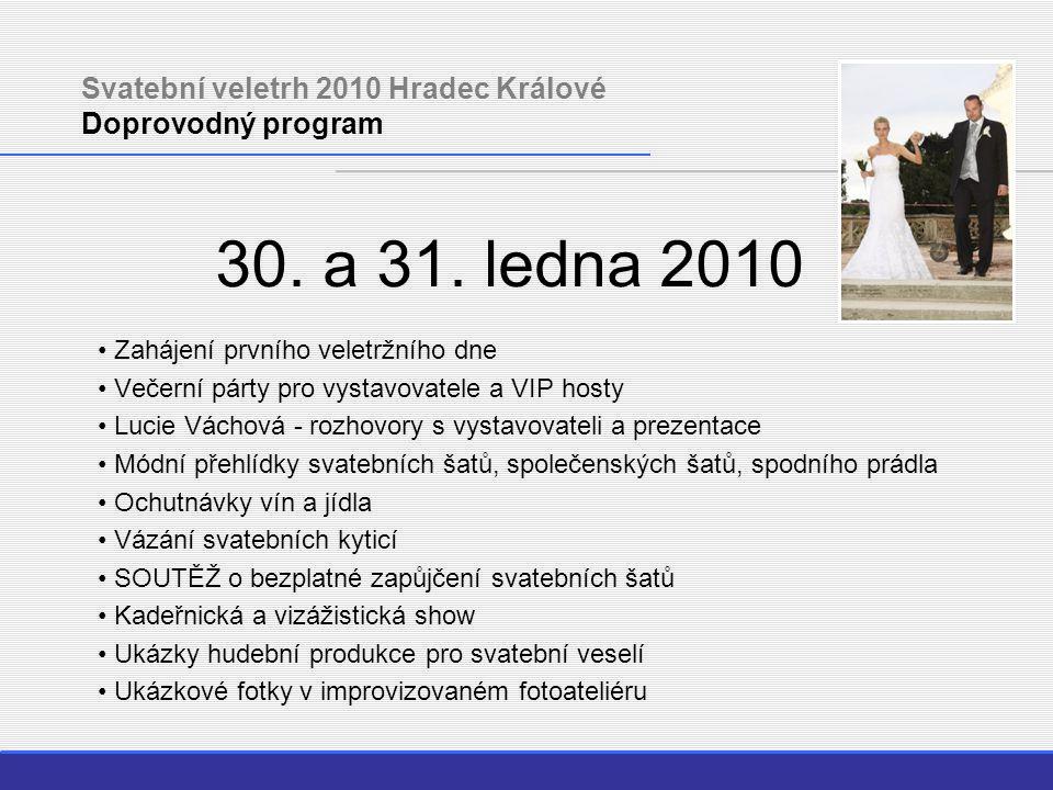 Svatební veletrh 2010 Hradec Králové Doprovodný program 30.