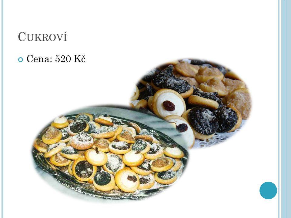 C UKROVÍ Cena: 520 Kč