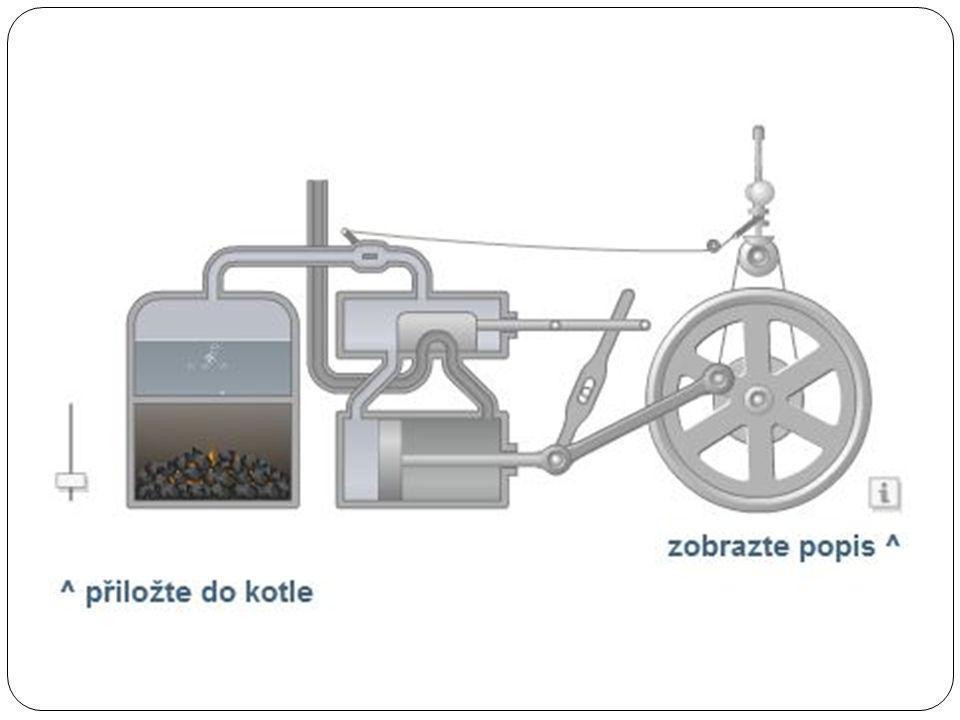 Parní stroj je pístový tepelný stroj, p ř em ěň ující tepelnou energii vodní páry na energii mechanickou, nej č ast ě ji rota č ní pohyb.pístovýtepelný strojtepelnou energiipárymechanickourota č ní pohyb