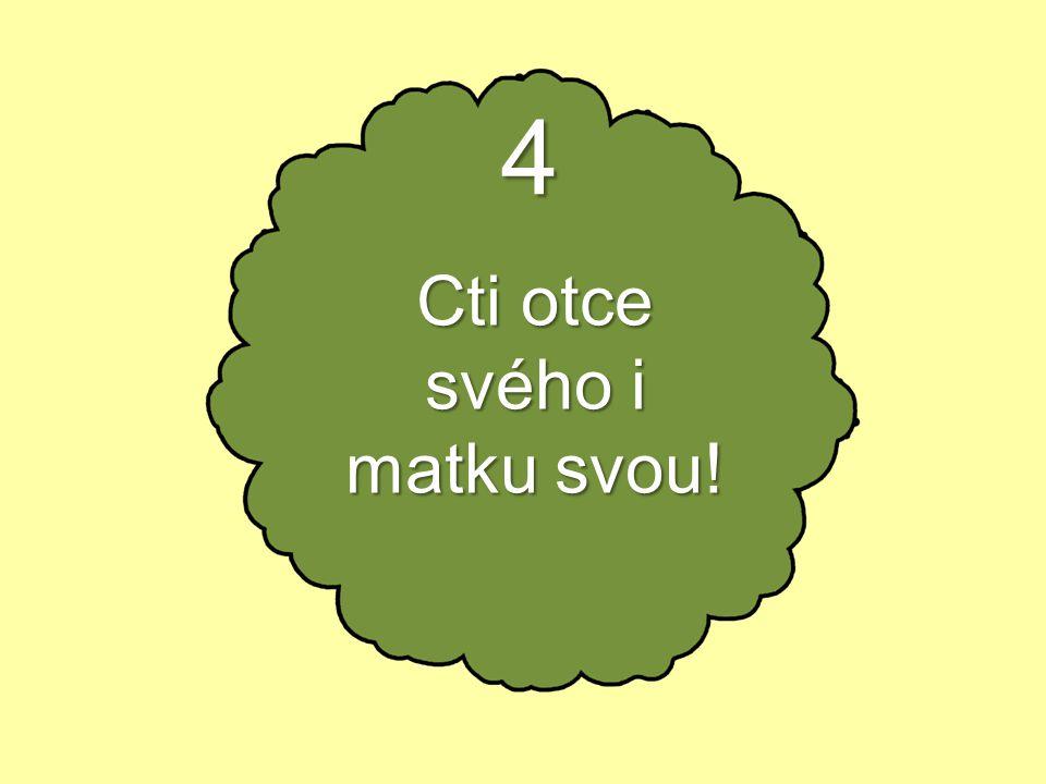5 Nezabiješ!