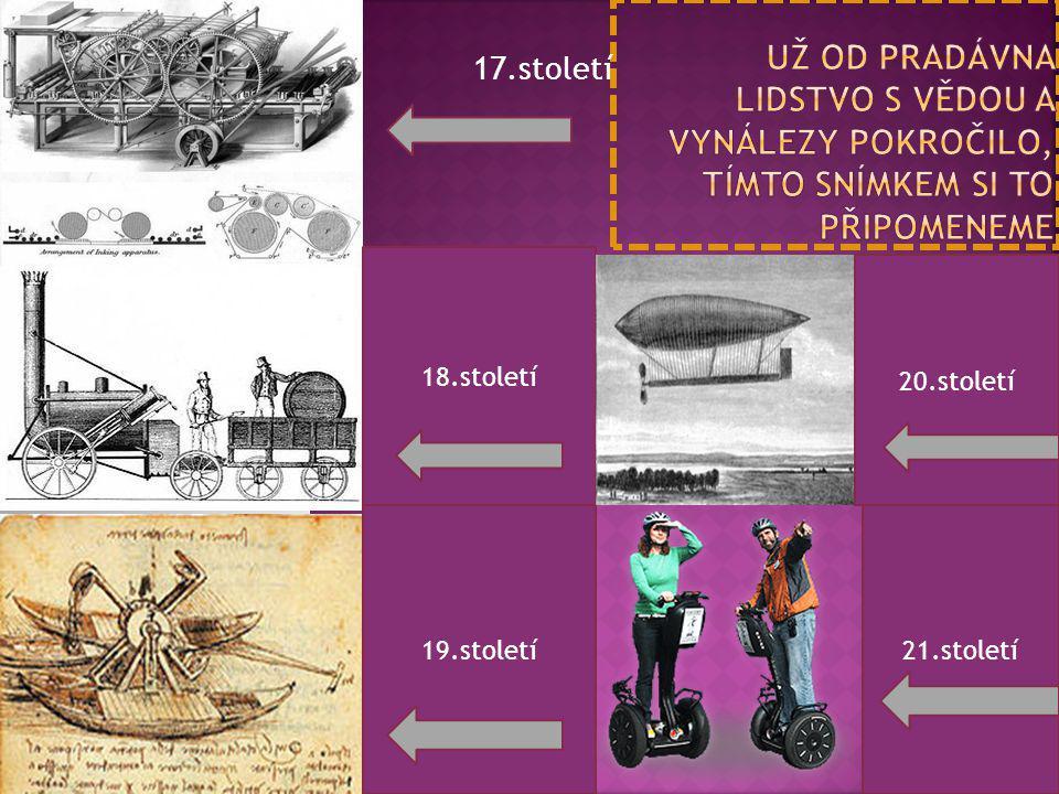 17.století 18.století 19.století 20.století 21.století