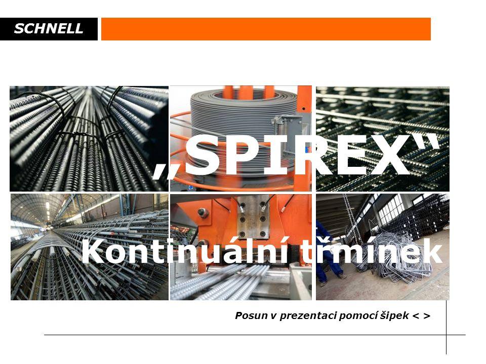 """SCHNELL """"SPIREX"""" Kontinuální třmínek Posun v prezentaci pomocí šipek"""
